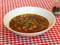 The GI Diet - Low GI Soup - Pork, Apple and Sage Soup