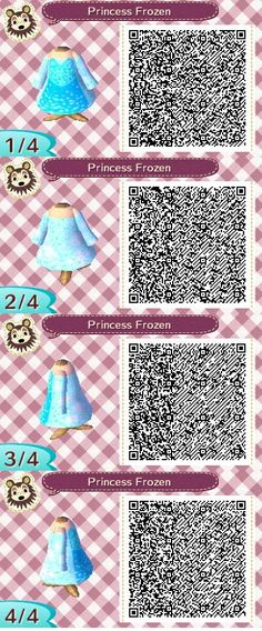 Animal crossing new leaf.It's an Elsa inspired dress from the movie Frozen.  I hope you like it.