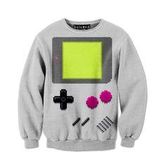 HandHeld Sweatshirt #nintendo #gameboy #sweatshirt