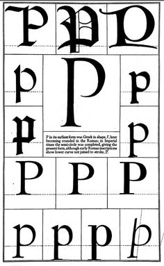 1942 Print Letter P Greek Roman Alphabet Design Typography Frederic Goudy Design Typography, Vintage Typography, Typography Letters, Journal Fonts, Letter J, Illuminated Letters, Calligraphy Fonts, Designs To Draw, Inspiration
