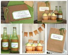 Brown paper packages tied up with string. Invite your girlfriends over for a Favorite Things Party! LOVE this idea!
