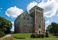 the castle of Turku, Finland