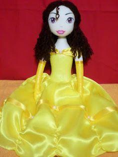 Esconderijo da Boneca para Artesãos: Princesa Bela