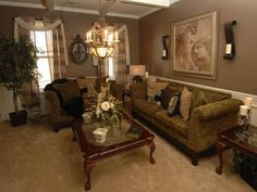 Old World Home Decorating Ideas | ... Space Into A Living Room With An