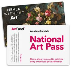 National Art Pass Online Price - for first time purchase £72