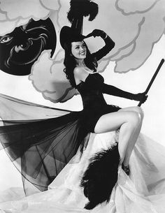 1940's Vintage Witch.