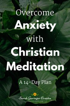 Did you know that you can overcome anxiety with Christian meditation? My new resource will help you do this in an affordable, convenient way. Prefer to watch/listen? Check out the video too. Meditation Videos, Meditation For Beginners, Faith Over Fear, Faith In God, Christian Living, Christian Faith, Christian Meditation, Writing Plan, Strong Faith