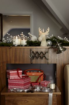 festive touches can be a charming addition to a modern bedroom decorate a headboard with - Modern Christmas Decorating Ideas