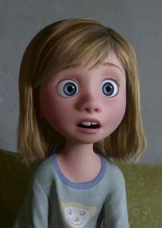 Inside out ♡ Riley Disney Pixar, Walt Disney, Cute Disney, Disney Movies, Funny Cartoon Memes, Cartoon Icons, Cute Cartoon, Inside Out Riley, Disney Inside Out
