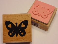 Schmetterling Stempel 40 mm A1 von petrascrafts64 auf Etsy, $1.85