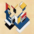 Contra-Construction  Project 1923 (guache on paper)  Theo van Doesburg