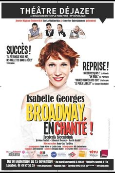 """Broadway enchanté"" avec Isabelle Georges, Frederik Steenbrink, Jerome Sarfati.... Théâtre Dejazet #Paris - 5 Octobre 2012 http://www.francetv.fr/culturebox/broadway-en-chante-ou-lhistoire-de-la-comedie-musicale-made-in-usa-109921?fb_action_ids=10151032924314145_action_types=og.recommends_source=aggregation_aggregation_id=246965925417366"