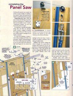#2590 Panel Saw Plans - Circular Saw