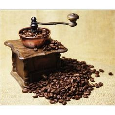 photo poster Coffee mill in size: 80 x 70 cm by F. Art-FF77