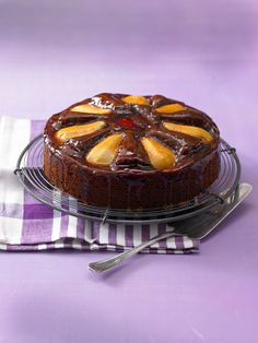 Birnen-Schokolade-Kuchen