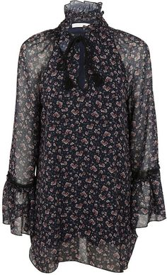 See by Chloe Floral Print Blouse Stampe Floreali 93f1a80705c