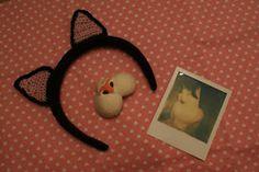 Haak & Smaak; Haarband met kattenoren
