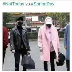 Omg trueeee~ but Yoongi me tho... I always wear dark clothing ~ I just like black/white or grey on me or dark blue.