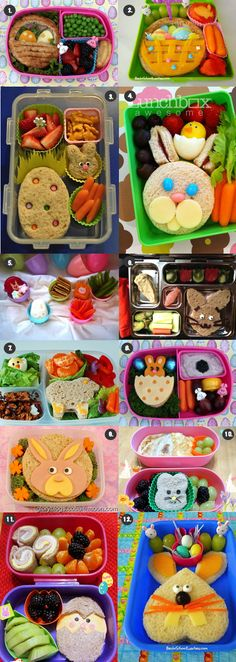 12 Great Easter Lunch Ideas!! E would love these! :)