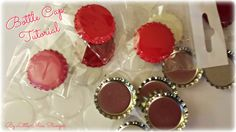 A video tutorial to hopefully answer some of the questions people have regarding bottle cap charms =)  How to flatten them, how to put holes in them, how to add images etc =)
