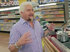 Go on a behind-the-scenes tour of the Grocery Games set with Guy and learn what it takes to run Flavortown Market.