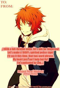 Uta no Prince sama ~~ Lyrics of Love by Otoya!