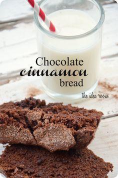 Chocolate Cinnamon Bread via @theidearoom - sounds amazing!