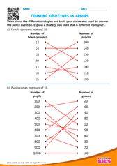Counting Objectives in Groups Number Worksheets Kindergarten, Fun Worksheets For Kids, Money Worksheets, Subtraction Worksheets, Preschool Math, Math For Kids, Printable Worksheets, Teaching Math, Learning Time