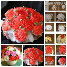 Ravishing Rose Cupcake Bouquet