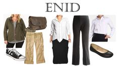 """Enid Costumes ~ Needs a wig for perm or fix hair to really be """"perm like"""" Harvard Students, Legally Blonde, Perm, Theater, Musicals, Wigs, Costumes, Book, Hair"""