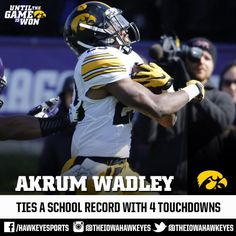 Akrum Wadley, Iowa Hawkeyes