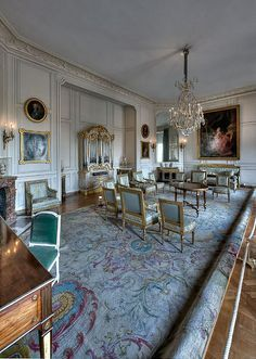 Grand Cabinet of Madame Adelaide, Chateau de Versailles