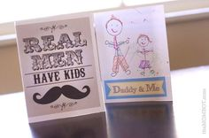 32 Free Father's Day Cards Dad Will Love: Real Men Have Kids and Daddy