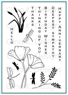 stamp set I want this is on Gina K designs site