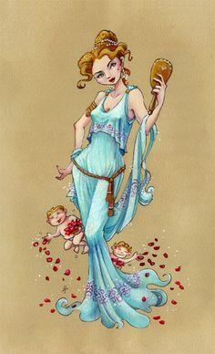 Jeff Davis - Greek Goddess Aphrodite