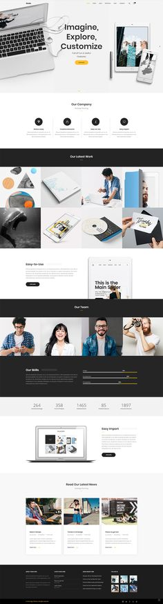 Create a modern website for your startup with Node WordPress theme. Product Branding, Modern Website, Creative Business, Wordpress Theme, Ecommerce, Conference, Web Design, Layout, Concept