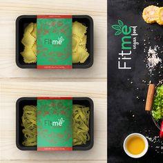 Food Packaging, Brand Packaging, Packaging Design, Ravioli, Healthy Weekly Meal Plan, Vegan Pasta, Bento Box, Lunch Box, Cafe Food