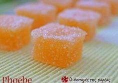 Ζελεδάκια λεμονιού ή πορτοκαλιού