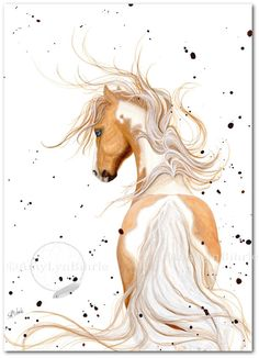Created from one of my Original Paintings. ~ AmyLyn Bihrle ●•٠·˙ Majestic Series #121    ● Sizes available- Use drop down menu for prices or to