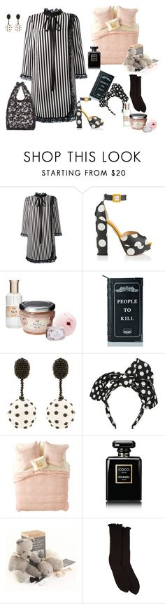 """""""Bed time story"""" by juliabachmann ❤ liked on Polyvore featuring Marc Jacobs, Charlotte Olympia, Killstar, Oscar de la Renta, Dolce&Gabbana, Nordstrom Rack, Chanel, Antipast and Balenciaga"""
