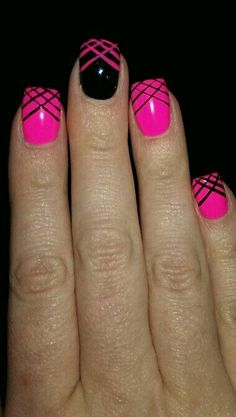"Check out our internet site for additional information on ""acrylic nail art designs summer"". It is actually an excellent spot to find out more. Get Nails, Fancy Nails, Trendy Nails, Prom Nails, Pink Black Nails, Hot Pink Nails, Pink Summer Nails, Pink Glitter, Glitter Nails"
