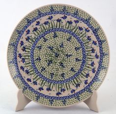 "10"" Dinner Plate (Riverbank) from The Polish Pottery Outlet"