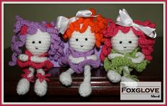 Crochet dolls - free pattern