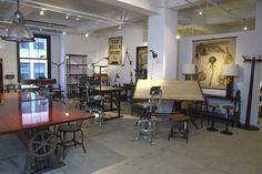 Get Back vintage industrial decor