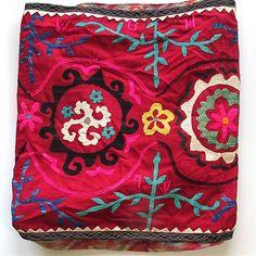 Uzbek suzani...awesome! so pretty