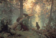 Iwan Iwanowitsch Schischkin - Morgen in einem Kiefernwald