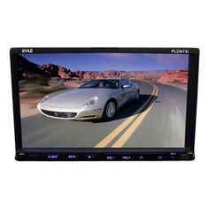 7'' Double DIN TFT Touch Screen DVD/VCD/CD/MP3/MP4/CD-R/USB/SD-MMC Card Slot/AM/FM/iPod Connector