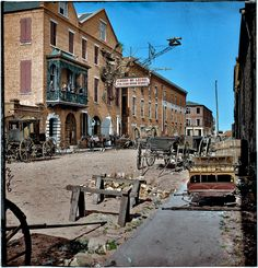Shorpy Historical Photo Archive :: Vulcan Iron Works (Colorized): 1865