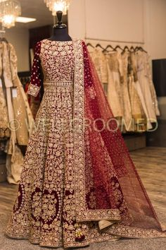 Shop Wellgroomed and our Bridal Anarkalis. Stunning Bridal Anarkalis shipped directly to your home. Shop Wellgroomed and our Bridal Anarkalis. Stunning Bridal Anarkalis shipped directly to your home. Asian Bridal Dresses, Asian Wedding Dress, Pakistani Wedding Outfits, Indian Bridal Outfits, Indian Bridal Lehenga, Pakistani Bridal Dresses, Pakistani Wedding Dresses, Indian Designer Outfits, Bridal Anarkali Suits