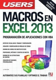 Macros en excel 2013  Programación de Aplicaciones con VBA